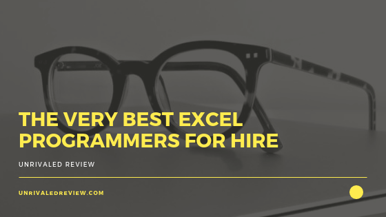 The Very Best Excel Programmers For Hire (Outsourcing Made Easy)