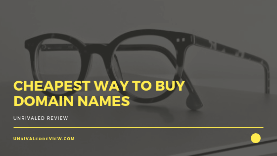 Cheapest Way To Buy Domain Names