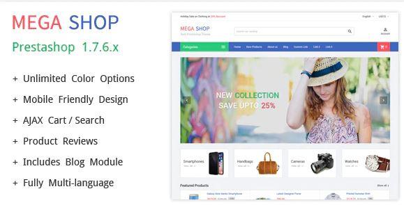 Megashop Shopify Theme
