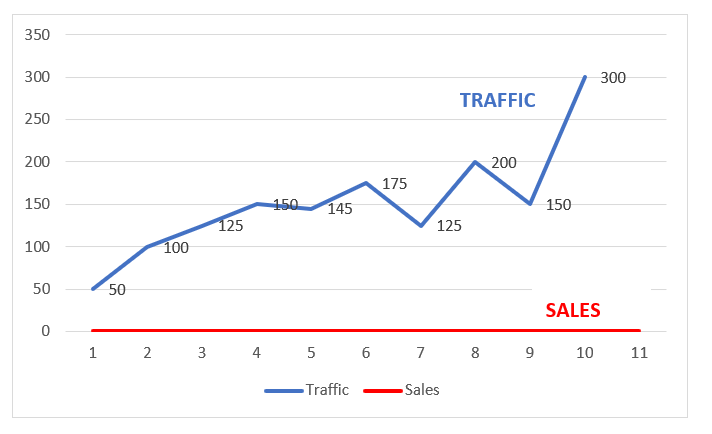 Shopify Store Traffic No Sales