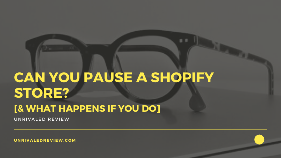 Can You Pause A Shopify Store? [& What Happens If You Do]