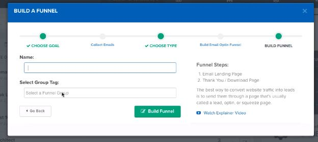 ClickFunnels Builder Type