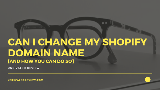 Can I Change My Shopify Domain Name [And How You Can Do So]
