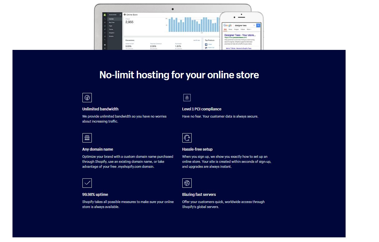 Can Shopify Handle High Traffic Hosting