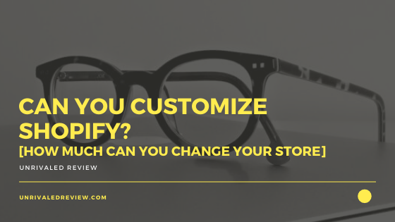Can You Customize Shopify? [How Much Can You Change Your Store]