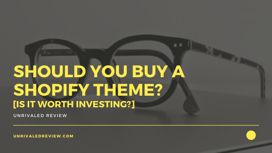 Should You Buy A Shopify Theme? [Is It Worth Investing?]