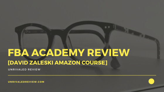 FBA Academy Review [David Zaleski Amazon Course]