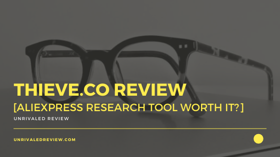 Thieve.co Review [AliExpress Research Tool Worth It?]